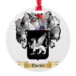 Thurber Round Ornament