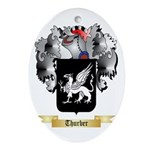 Thurber Oval Ornament