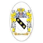 Thunder Sticker (Oval 50 pk)