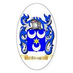 Thrupp Sticker (Oval 10 pk)