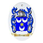 Thrupp Oval Ornament