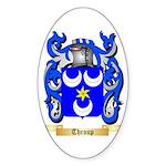 Throup Sticker (Oval 50 pk)