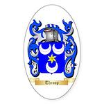 Throop Sticker (Oval 50 pk)