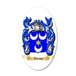 Throop 35x21 Oval Wall Decal