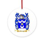 Throop Round Ornament