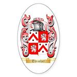 Thrasher Sticker (Oval 10 pk)