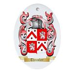 Thrasher Oval Ornament