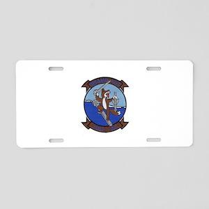 HSL-44 Swamp Foxes Aluminum License Plate