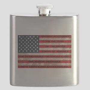 Original Pledge Flask