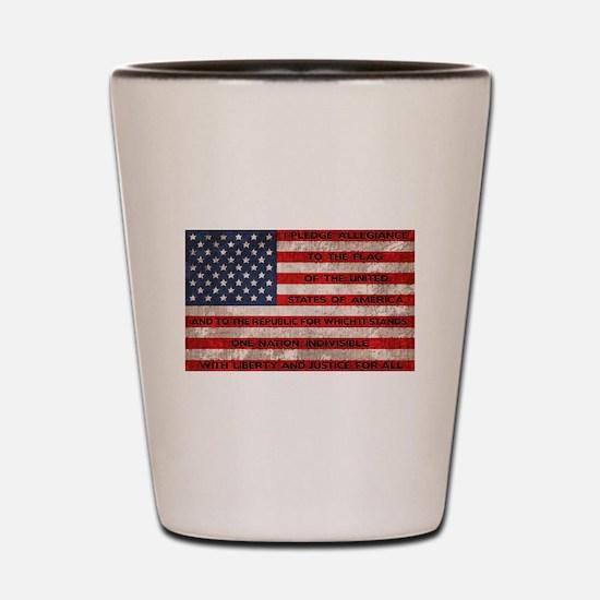 Original Pledge Shot Glass
