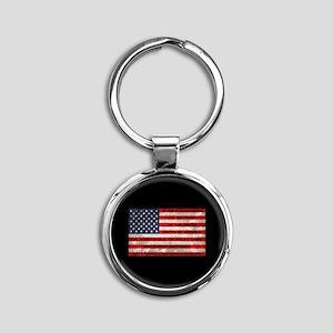 Original Pledge Round Keychain