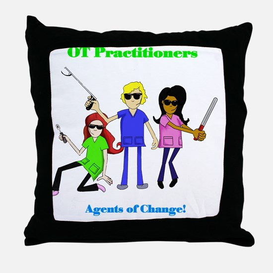 Funny Occupational therapy Throw Pillow