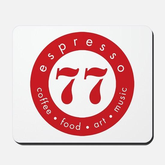 Espresso 77 Mousepad