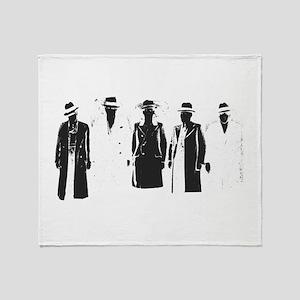 Original Gangsters Throw Blanket