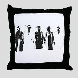 Original Gangsters Throw Pillow