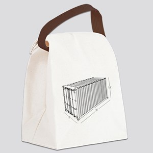 Container Canvas Lunch Bag