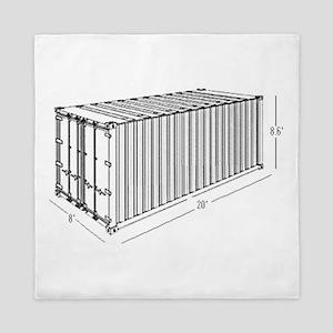 Container Queen Duvet