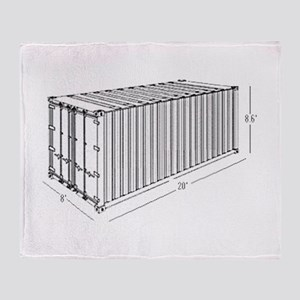 Container Throw Blanket