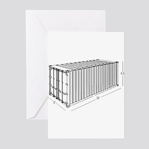 Container Greeting Cards