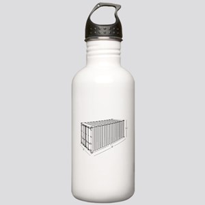 Container Stainless Water Bottle 1.0L