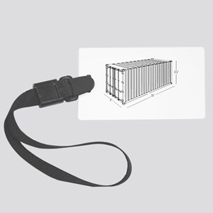 Container Large Luggage Tag