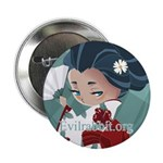 "Japanese Flower 2.25"" Button (10 pack)"
