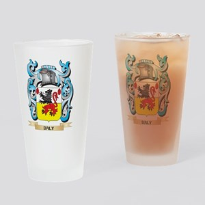Daly Coat of Arms - Family Crest Drinking Glass