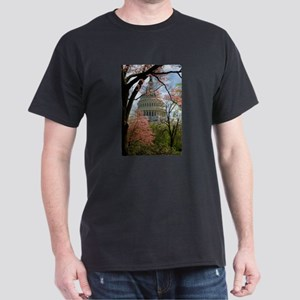 Capitol Amongst Cherry Trees T-Shirt