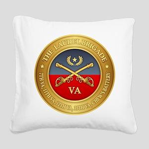 The Laurel Brigade Square Canvas Pillow