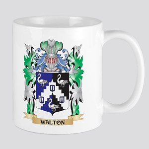 Walton Coat of Arms - Family Crest Mugs