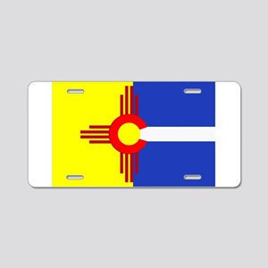 NM/CO Aluminum License Plate