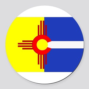 NM/CO Round Car Magnet