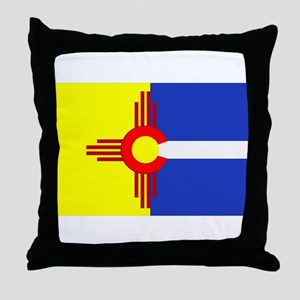 NM/CO Throw Pillow