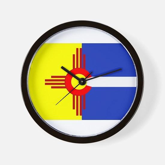 NM/CO Wall Clock