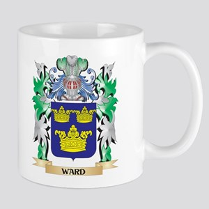 Ward Coat of Arms - Family Crest Mugs