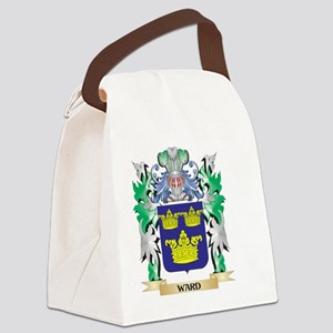 Ward Coat of Arms - Family Crest Canvas Lunch Bag