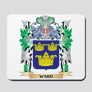 Ward Coat of Arms - Family Crest Mousepad