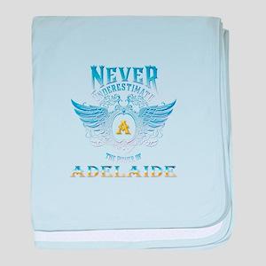 Never underestimate the power of adel baby blanket