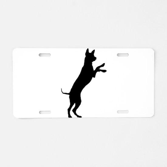 Entlebucher mountain dog si Aluminum License Plate