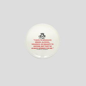 GONZO QUOTE (ORIGINAL) Mini Button