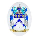 Thoumasson Oval Ornament