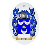 Thorpe Oval Ornament