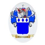 Thorowgood Oval Ornament