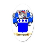 Thoroughgood Oval Car Magnet