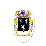 Thorold Oval Car Magnet