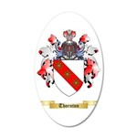 Thornton 35x21 Oval Wall Decal