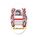 Thornill Oval Car Magnet