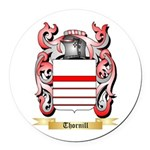 Thornill Round Car Magnet