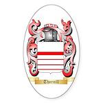 Thornill Sticker (Oval 50 pk)