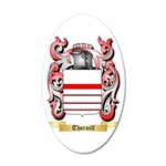 Thornill 35x21 Oval Wall Decal